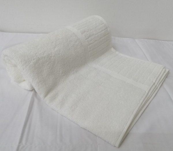 Galleon White Bath Sheet