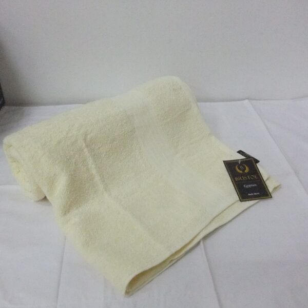 Egyptian Bath Sheet Cream